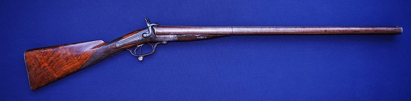 W. Wellington Underlever Double Pinfire 10 Gauge