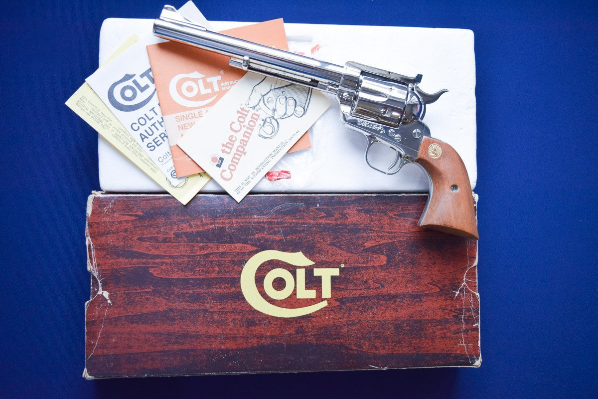 Colt New Frontier SAA 357 Magnum Model P4671