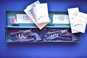 Consecutive Set USFA Rodeo's In 45 Colt